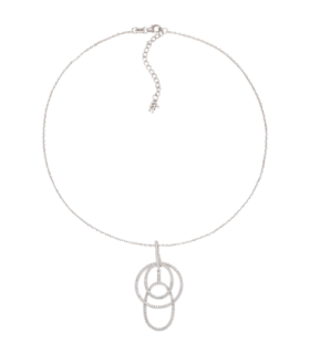 Chandelier silver necklace - 5020.3341