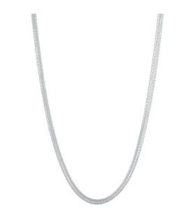 Essential silk silver necklace - 5020.2611