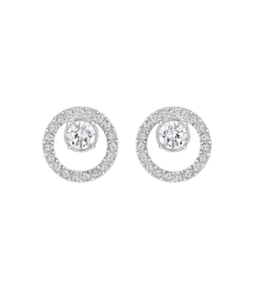 Creativity Circle Small Pierced Earrings - 5201707
