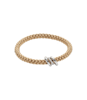 Fope Flex'It Solo Bracelet with Diamonds - 652B BBRM