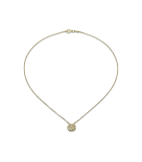 Fope Necklace Lovely Daisy 18ct Yellow Gold - 20C