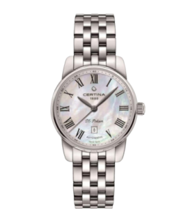 Certina DS Podium White Mother of Pearl Steel Automatic Watch 29MM - C001.007.11.113.00