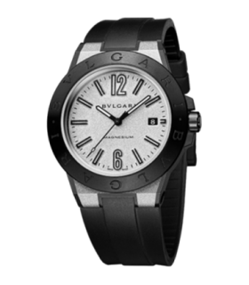 Diagono 41mm magnesium silver automatic watch - DG41C6SMCVD - 102427