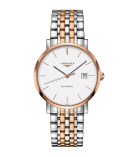 Longines Elegant SS/RGP autom watch 39MM - L4.910.5.12.7