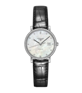 Elegant diamonds automatic watch - L4.310.0.87.2