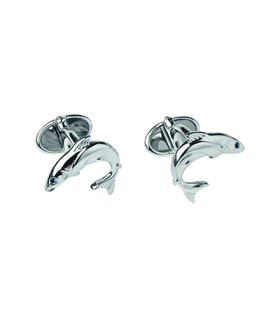 Links of London heritage salmon cufflinks - 2516.0374
