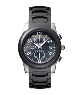 Links of London phoebe black ceramic watch - 6030.0383