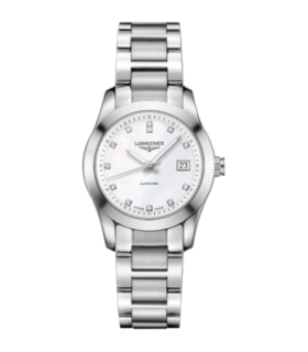 Conquest Classic Diamonds Automatic - L2.285.4.87.6