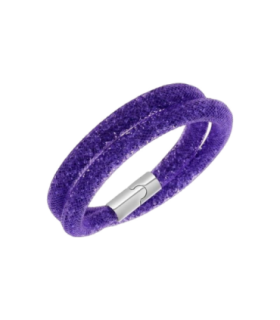 Swarovski Jewellery stardust double bracelet - purple m - 5089834