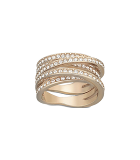 Swarovski Jewellery spiral ring size 55 cry/ros - 5063924