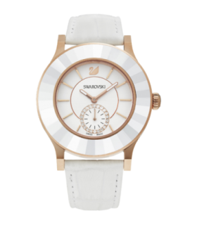 Swarovski Watches swarovski octea classica - white, rose gold - 5043143