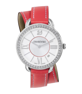 Alia day double tour berry quartz watch - 5095942