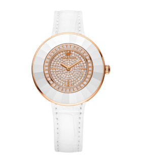 Octea dressy white rose gold quartz watch - 5095383