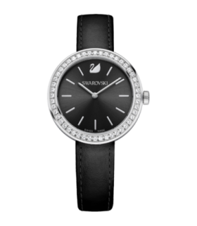 Swarovski Watches daytime black quartz watch - 5172176