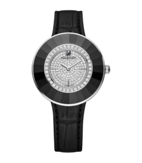 Swarovski Watches octea dressy black quartz watch - 5080506