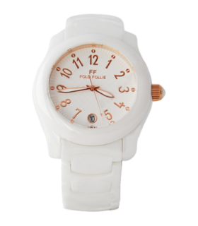 Folli Follie wist white ceramic quartz watch - WF9F002BDZ - 6015.0659