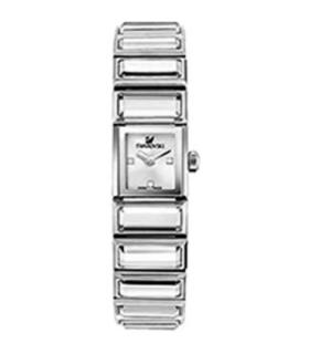 Swarovski Watches baguette quartz watch white dial - 999984