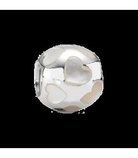 Pandora Moments MOP heart charm - 790398MPW