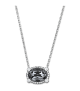 Swarovski Jewellery rosette mini dark necklace - 5007811