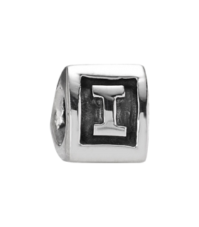 Pandora moments 925 sterling silver letter i charm - 790323I