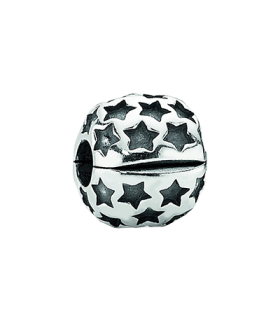 Pandora moments 925 sterling silver star clip charm - 790851