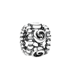 Pandora moments 925 sterling silver circles spacer charm - 790456