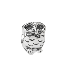 Pandora moments 925 sterling silver owl charm - 790278