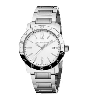 Bulgari Watches Bulgari ss wht face 39mm autom w - BB39WSSD - 102110