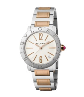Bulgari Watches Bulgari ss/rgp 33mm autom watch - BBL33WSPGD - 102265