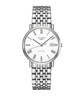 Elegant 37mm automatic watch - L4.810.4.11.6