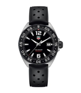 Tag Heuer Formula 1 black rubber Quartz Watch - WAZ1110.FT8023