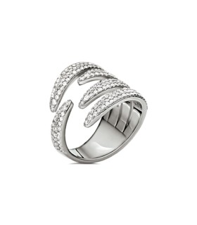 Temptation Silver ring size 56 - 5045.6366