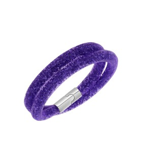 Swarovski Jewellery stardust double bracelet - purple s - 5102548