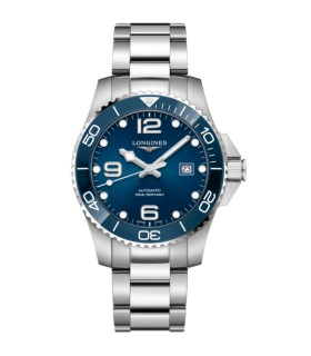 Hydroconquest Blue Automatic 43MM  - L3.782.4.96.6
