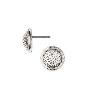 Timeless Silver Stud Earrings - 5040.2555