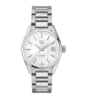 Carrera Wht Steel Quartz 36MM - WBK1311.BA0652