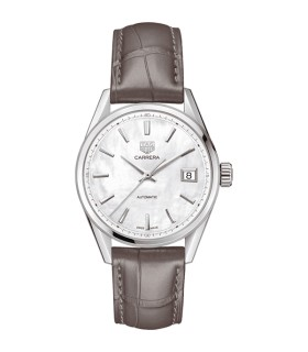 Carrera White Automatic 36MM - WBK2311.FC8258