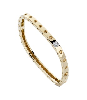 Bangle 18YG and diamonds - ADR888BA0968_1