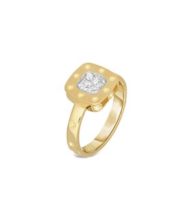 Pois Moi Mini 18YG diamond ring - ADR777RI0514