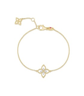 Princess Flower 18Y diamond bracelet - ADR777BR2666