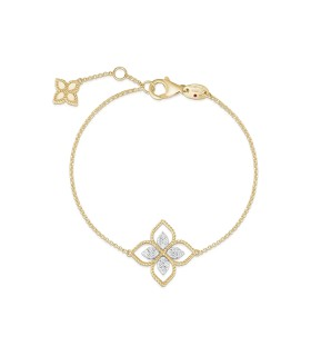 Princess Flower 18Y diamond bracelet - ADR777BR2665