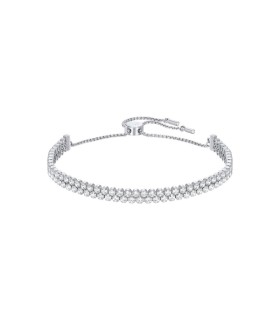 Subtle rhodium plated bracelet - 5221397
