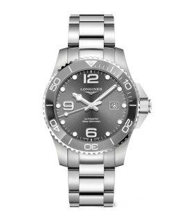 Hydroconquest grey automatic 43MM - L3.782.4.76.6