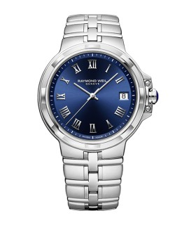 Parsifal Blue Quartz 41MM - 5580-ST-00508