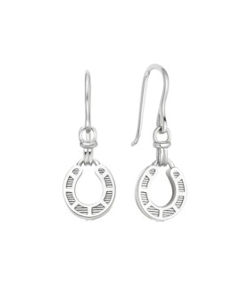 Ascot Horseshoes silver earrings - 5040.3375