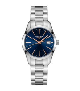 Conquest Classic blue Qtz 34MM - L2.386.4.92.6