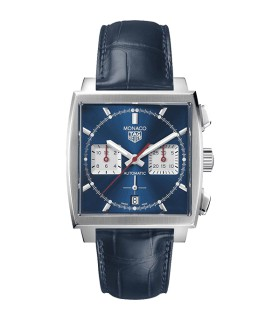 Monaco Heuer 02 watch 39MM - CBL2111.FC6453