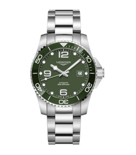 Hydroconquest Green Autom 41MM - L3.781.4.06.6