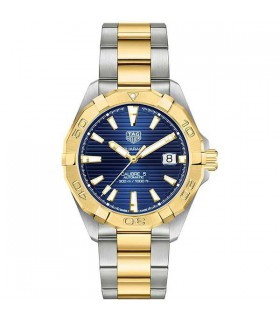 Aquaracer blue steel & gold 41MM - WBD2120.BB0930