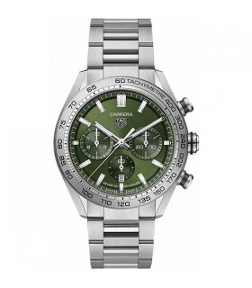 Carrera Heuer 02 Green Chrono - CBN2A10.BA0643